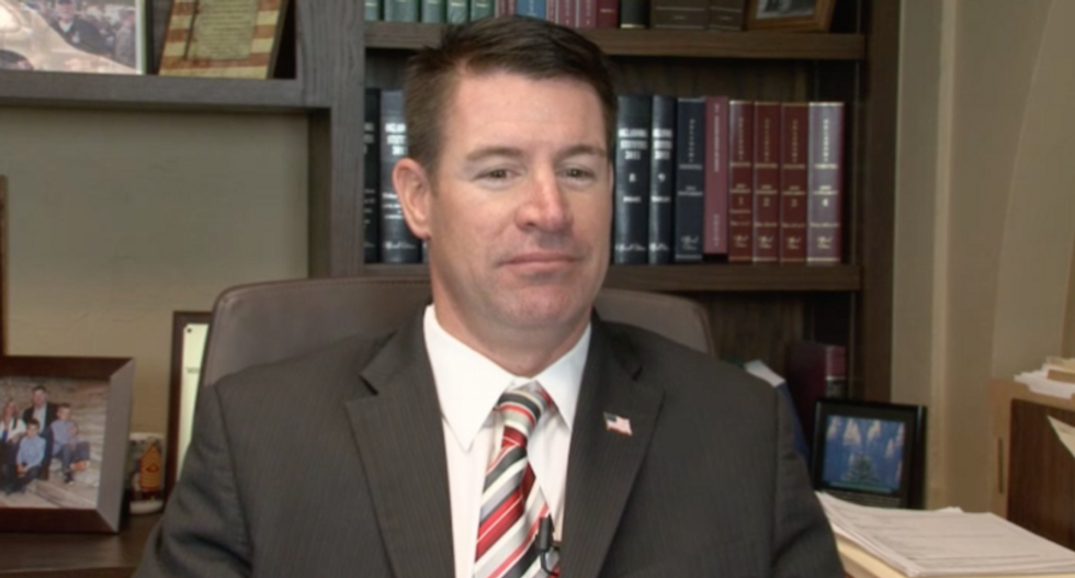 Muslims are literally asked if they 'beat their wives' before they can meet GOP lawmaker