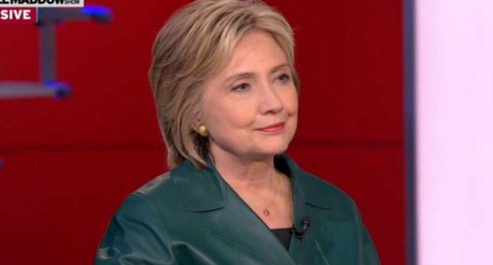Clinton campaign says TV spot shows commitment to fight predatory drug pricing