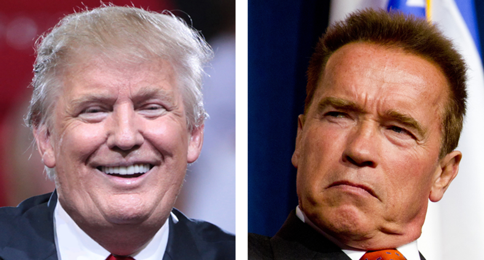 Schwarzenegger zings Trump for shady finances in epic fact-check of Trump's claim the actor-turned-politician was 'dead'