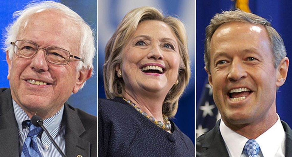WATCH: Democratic presidential candidates appear at Iowa Brown and Black Forum