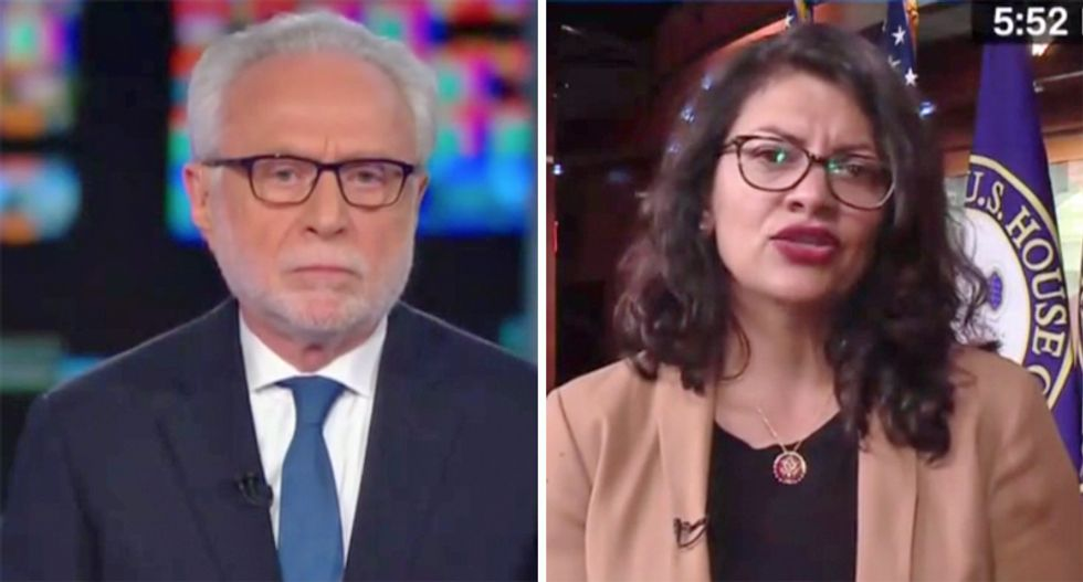 'He's the one who hates our country': Rep. Rashida Tlaib rips Trump's 'failed presidency'