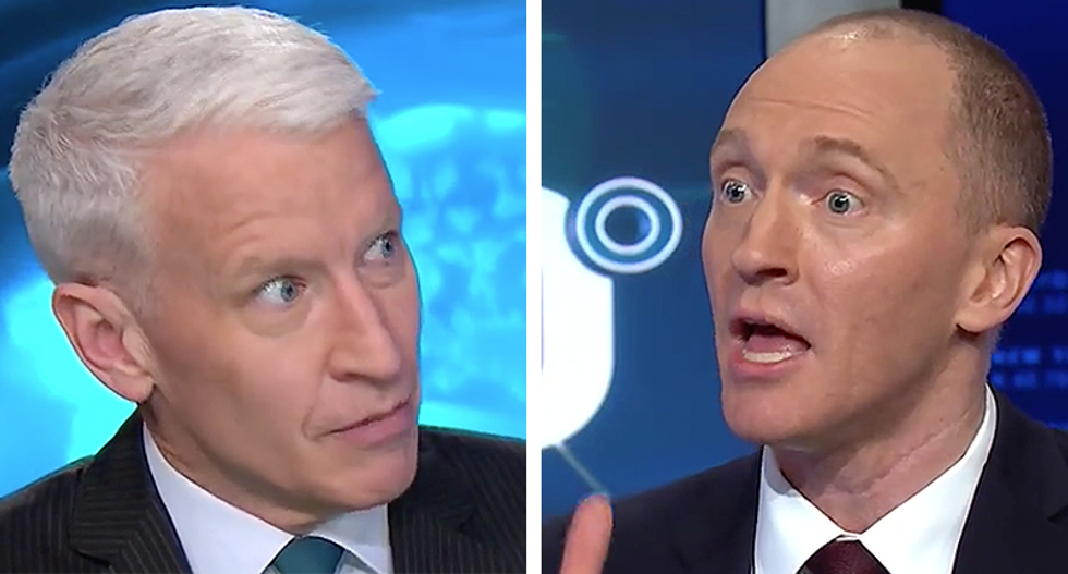 Anderson Cooper torches Carter Page in embarrassing interview on Russia and his role with Trump