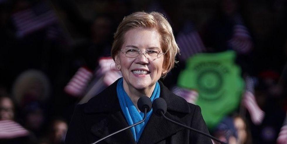 Posting $24.6 million third-quarter haul, Warren far surpasses Biden 'without one single fancy fundraiser'