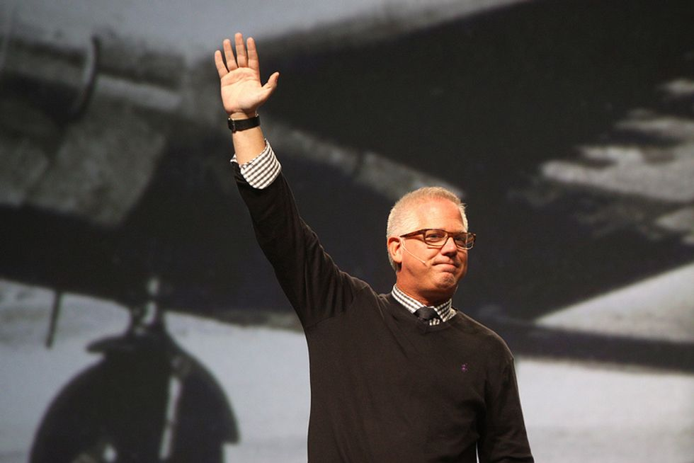 Glenn Beck puts his private jet up for sale as his media empire falls apart