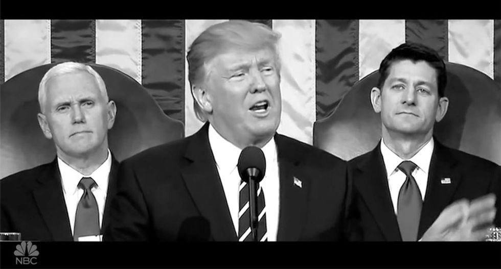 'Definitely not Paul Ryan': SNL brilliantly shreds gutless GOP with search for Trump-stopping hero 'TBD'