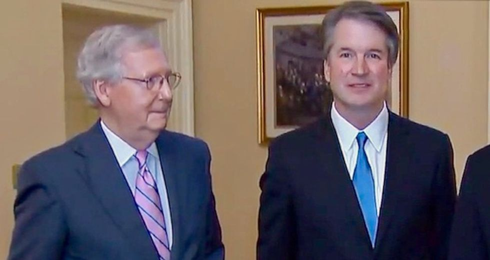 Mitch McConnell called himself a 'rock star' after forcing through Brett Kavanaugh's Supreme Court confirmation