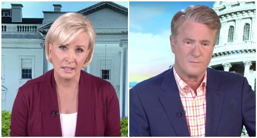 'Pure and simple evil': MSNBC's Morning Joe and Mika destroy Trump's 'racist and illegal' taunts against Omar