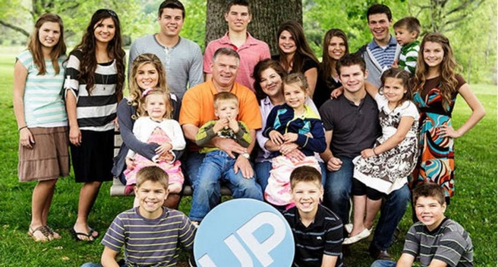 Patriarch of Duggar-like family with 19 kids and reality show accused of sexual misconduct cover-up