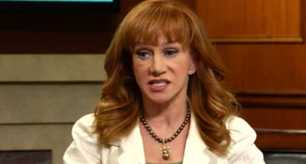 CNN boots Kathy Griffin after 'prank' with severed Trump head
