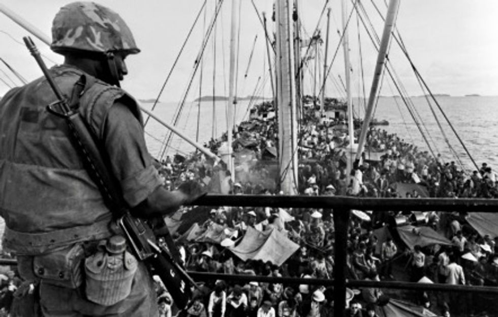 Vietnam War refugees deported under Trump struggle to settle