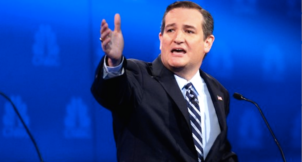 Cruz: Let 'real journalists' Sean Hannity and Rush Limbaugh host GOP debates instead of 'left wing operatives'