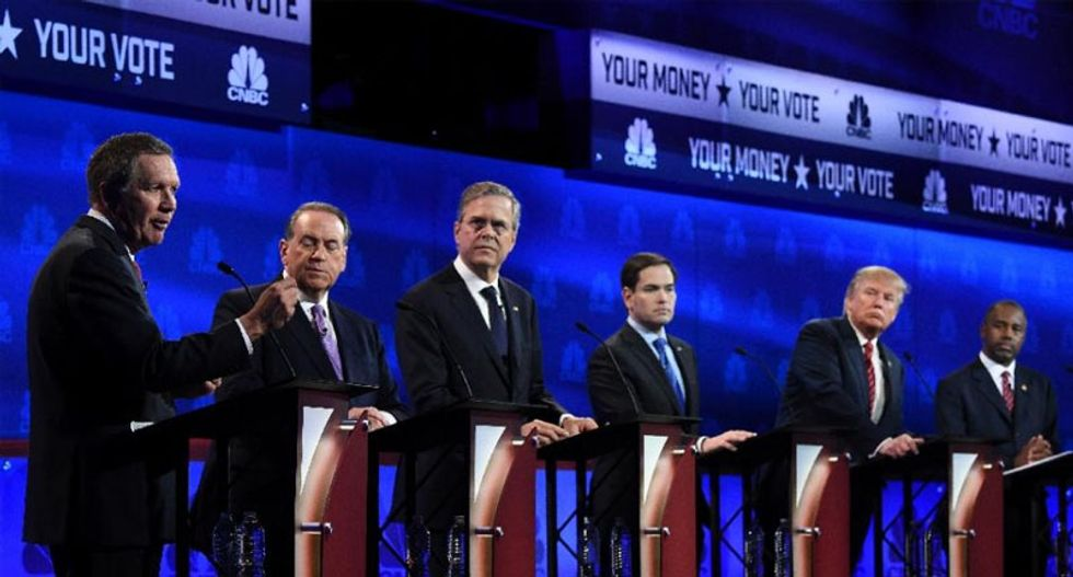 Las Vegas: City divorced from reality was fitting spot for Republican debate