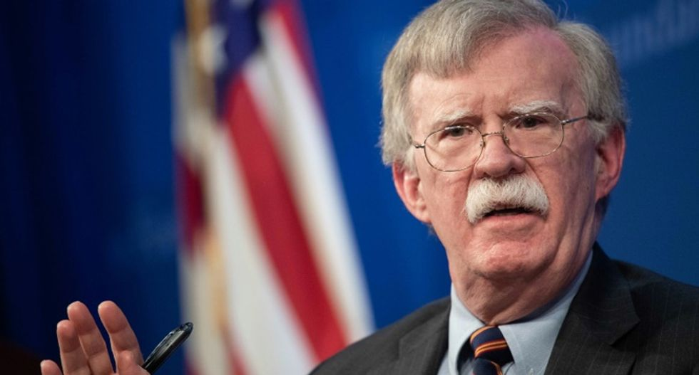 Trump and Bolton: Two fat heads with itchy trigger fingers and 120,000 troops