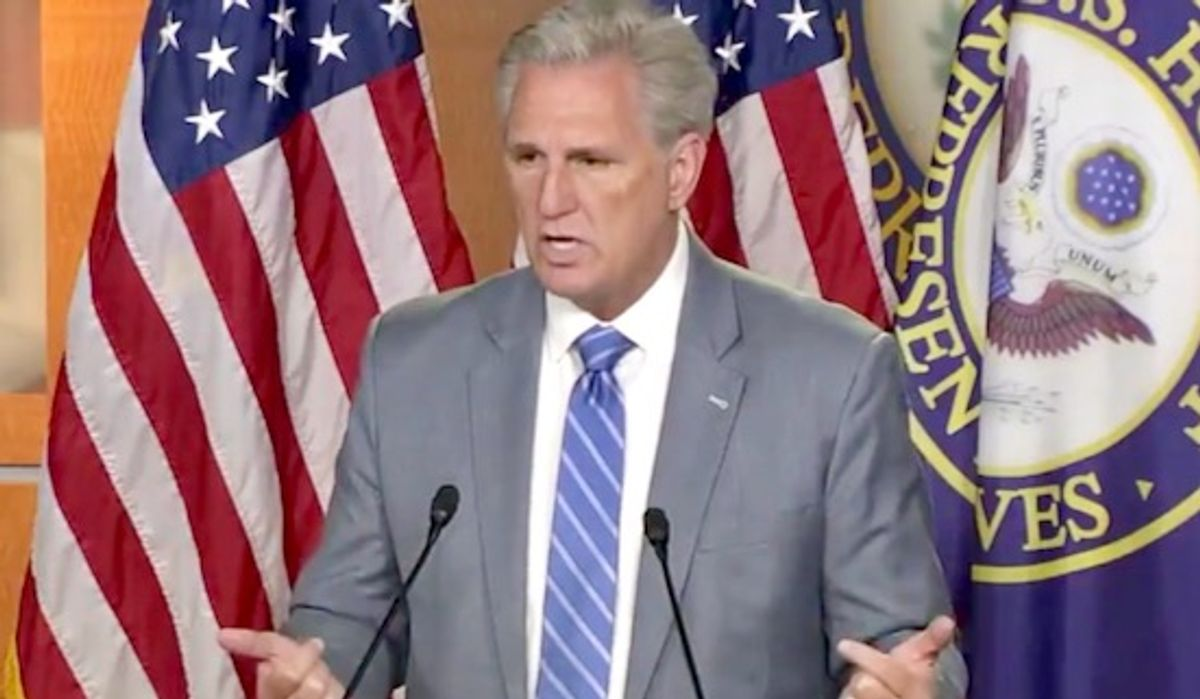 GOP's Kevin McCarthy gets nailed by his own words after claiming Trump is blameless for Capitol insurrection