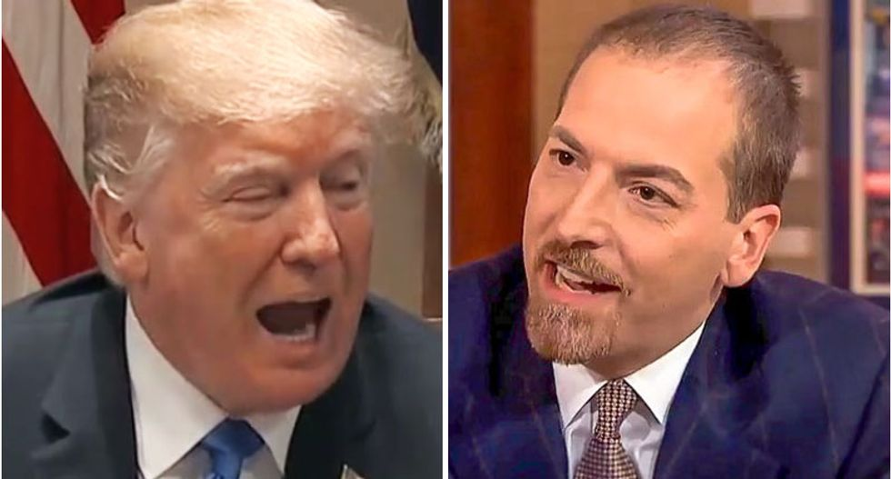 Chuck Todd's terrible interview with fabricator-in-chief Trump snapped the tether: From here on out there's no truth