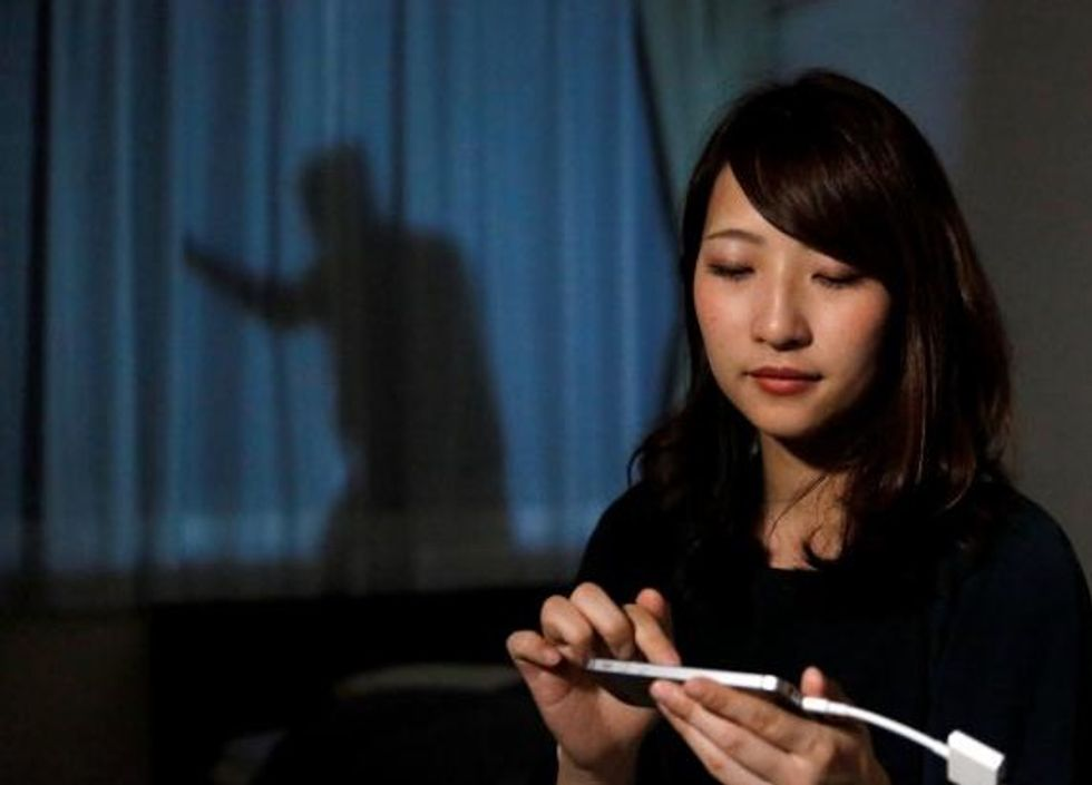 Shadow-boxing tough guy should protect home-alone Japanese women