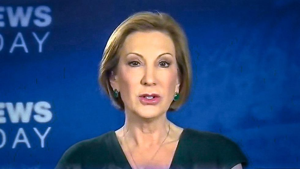 Carly Fiorina: 'There's a double standard' because nobody mocks Hillary Clinton's appearance