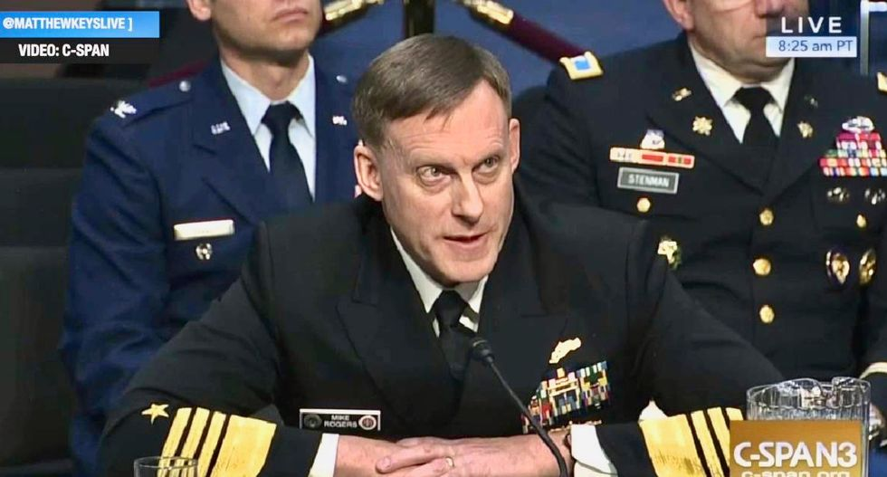 Former NSA chief reveals that Trump suggested he didn't believe in Russia hacking