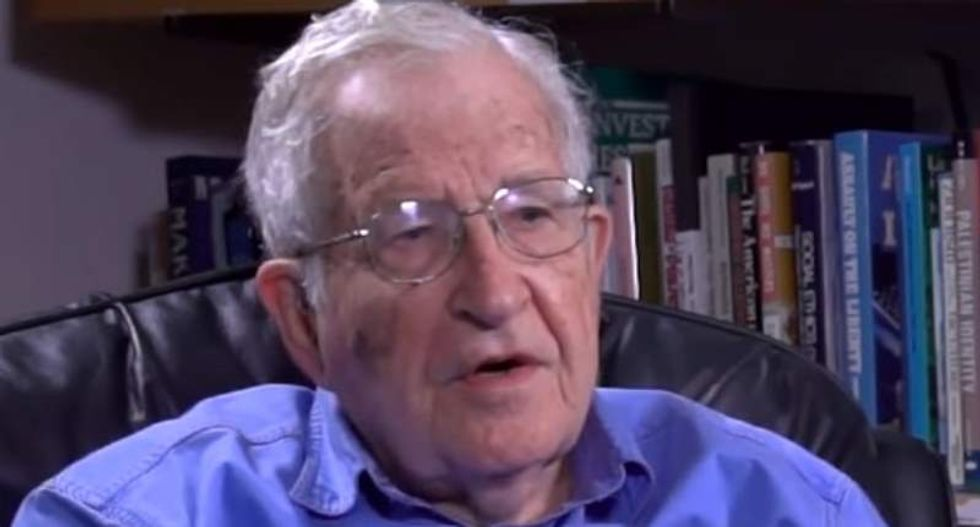 Noam Chomsky: Trump has pushed the doomsday clock dangerously close to midnight