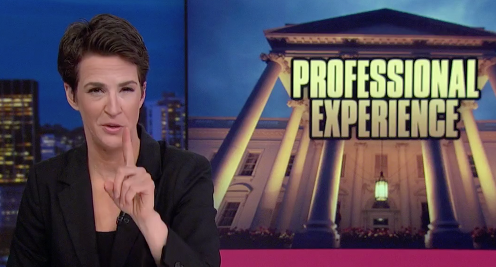 MSNBC's Maddow details Trump's sketchy order for Sessions to hire a Flynn loyalist fired from the NSC