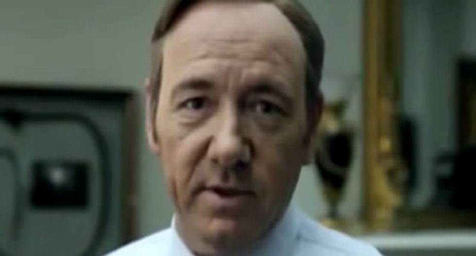 Kevin Spacey: Election coverage makes me think 'House of Cards' doesn't go far enough