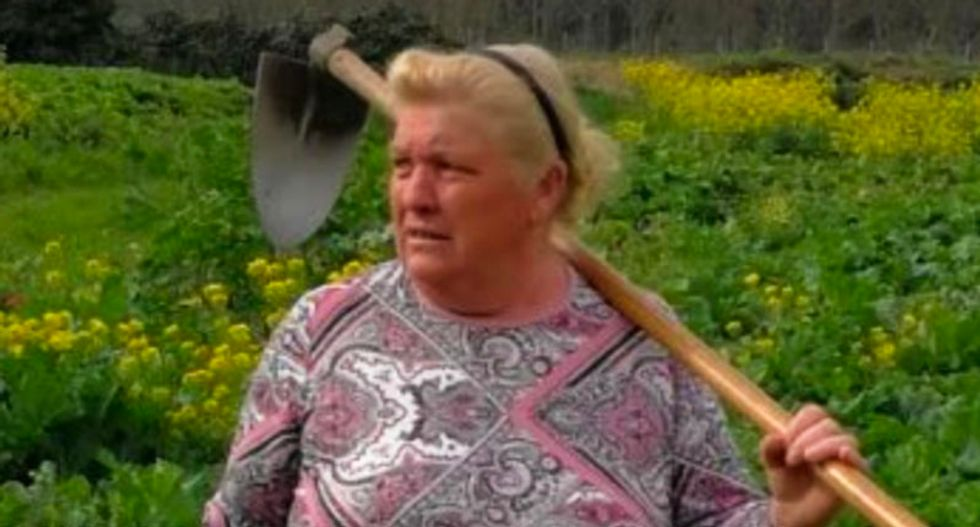 This Spanish woman looks just like Trump -- and here's what she has to say about it