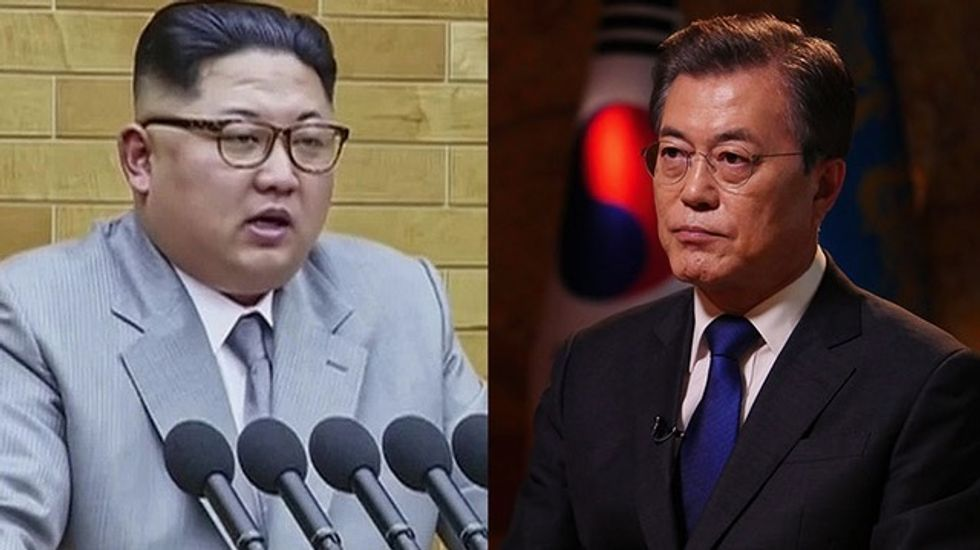North Korea open to denuclearization, ready for talks with US, South says