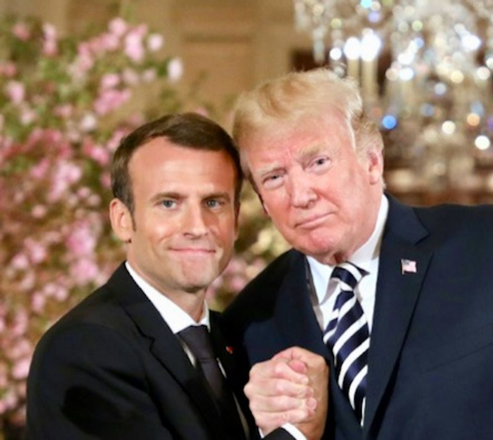 Trump and Macron don't have a 'Bromance' — It's a power struggle