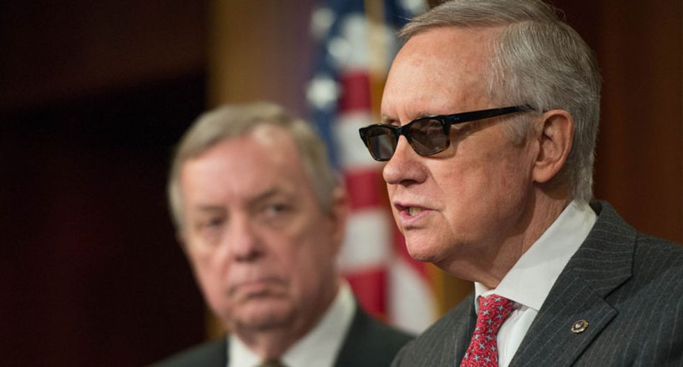 Senate Dems block bill making US entry tougher for Syrian refugees