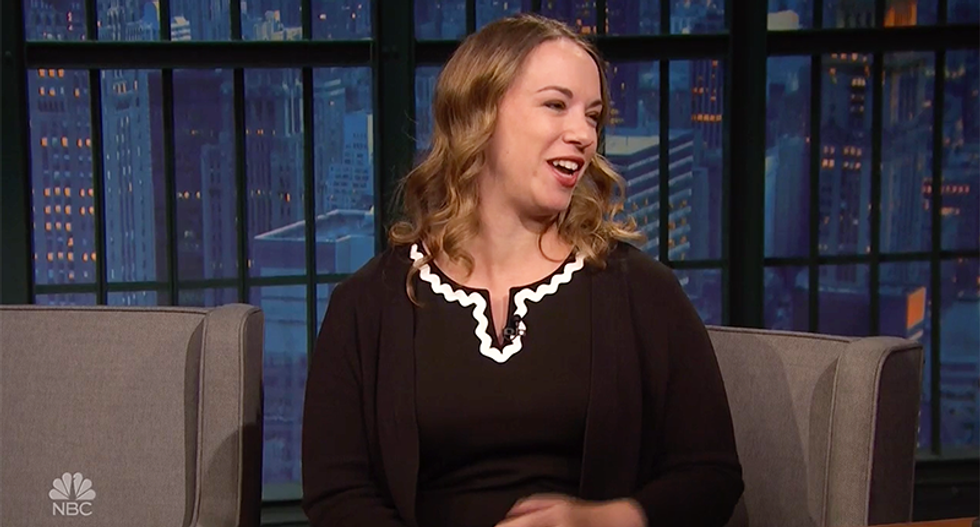 Journalist Sarah Kendzior has bad news for Seth Meyers: If I'm on TV — 'then you know America is in bad shape'