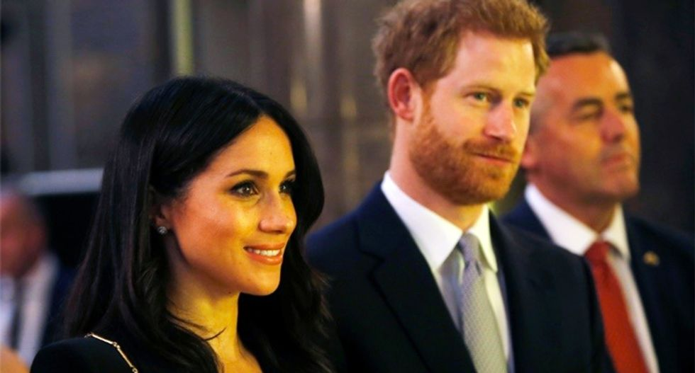 Meghan Markle ties the knot -- but not the way you might think with Prince Harry