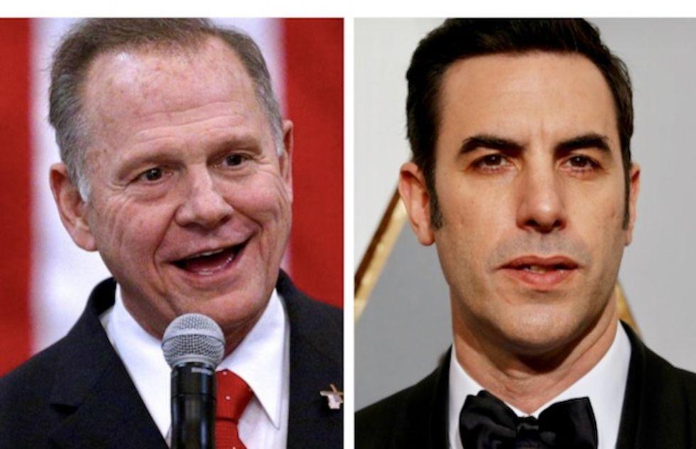 Roy Moore sues Sacha Baron Cohen, Showtime, CBS in $95 million defamation case