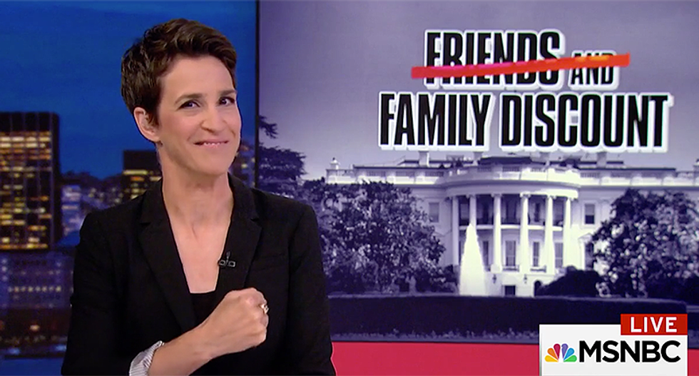 'Slush fund': Maddow follows the money from Trump's 'giant pile of Inauguration Fund cash'