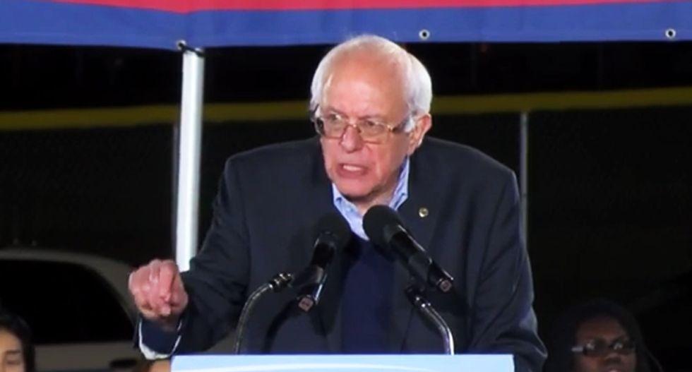 Bernie Sanders wins Maine's Democratic Presidential Caucus