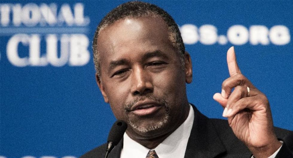 Republican Ben Carson may consider a third party run