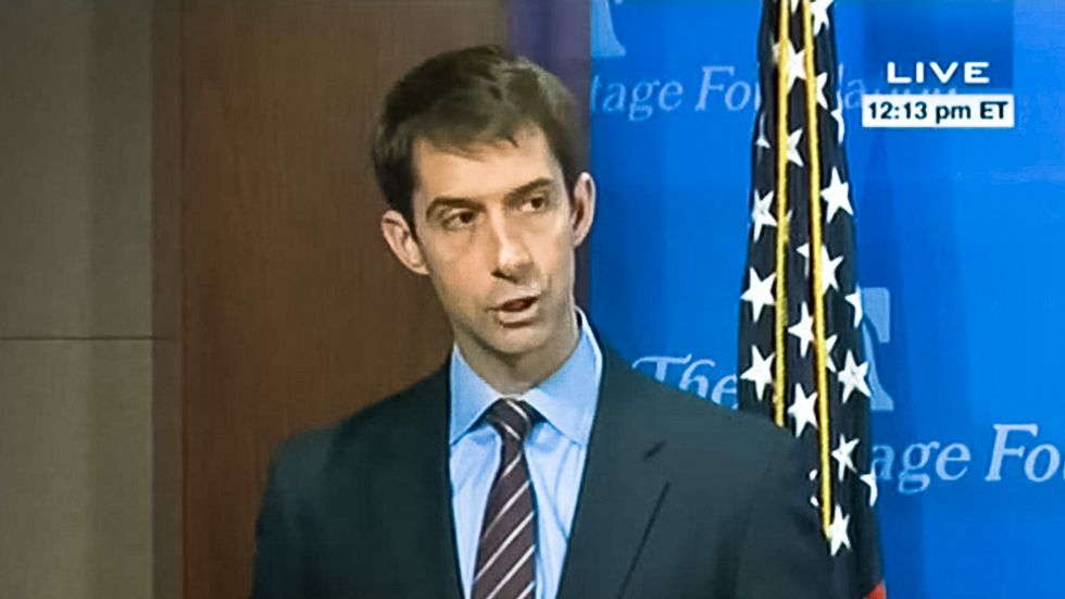 Sen. Tom Cotton: Social Security benefits cause people to 'spiral downward' into heroin addiction