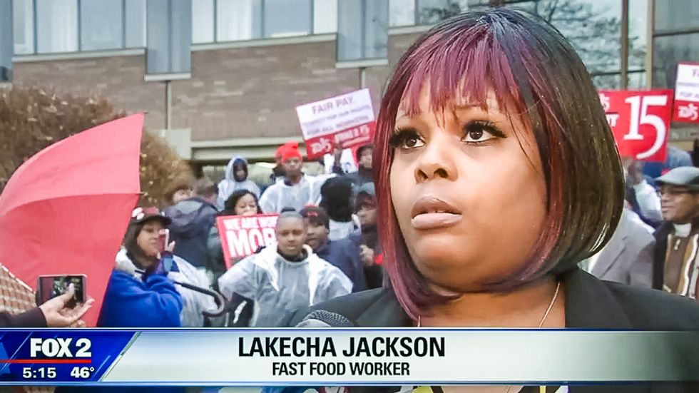 Detroit Fox reporter to fast food worker: 'Paramedics don't even make $15 and they save lives'
