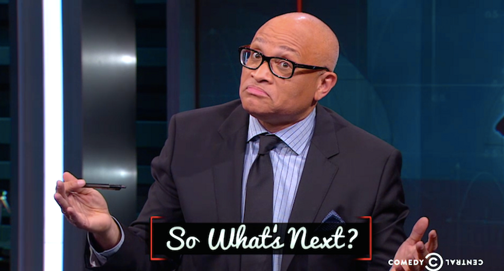 Larry Wilmore asks whether weekly toddler shootings are 'cost of doing business' in NRA's America