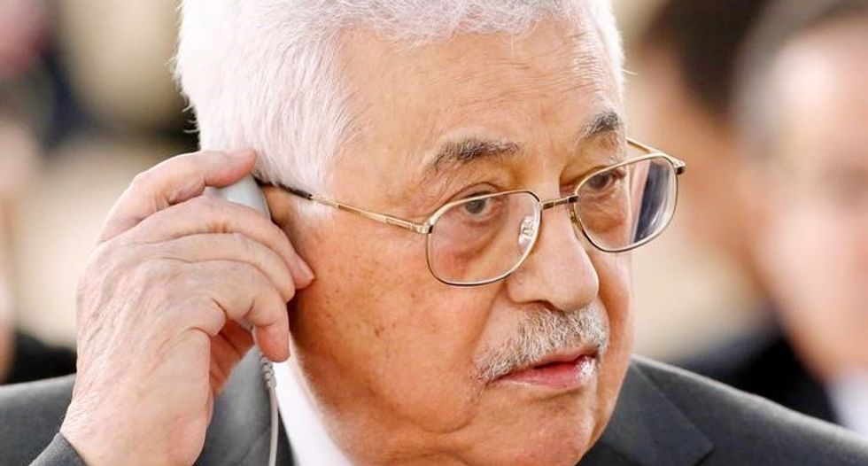 Palestinian President Mahmoud Abbas offers apology for remarks on Jews