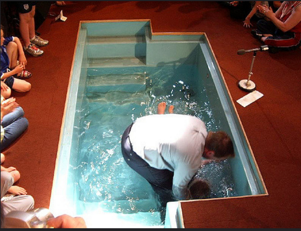 Mother says church baptized her disabled child against his will  -- and the courts are refusing hear to her case