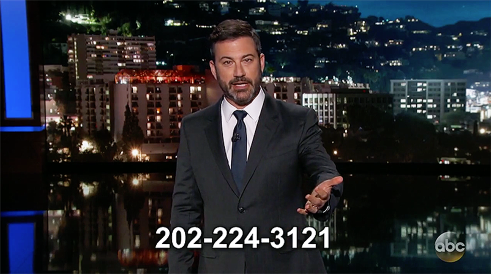 Kimmel nails Trump for being too dumb to grasp GOP health bill or even 'the difference between Melania and Ivanka'