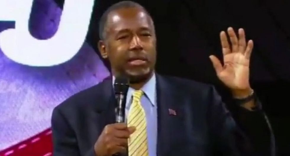 Ben Carson points to experience as neurosurgeon to prove he's fit to kill innocent people