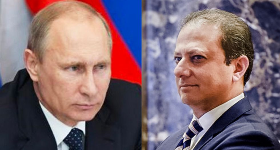 US Attorney fired by Trump was banned from entering Russia by Vladimir Putin