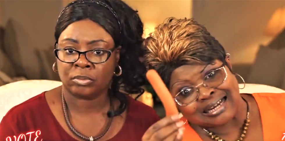Trump promotes legal analysis from Diamond & Silk to attack New York's attorney general