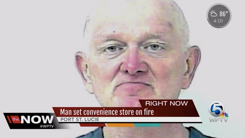 Florida man tried to burn down store because 'Muslim' owner didn't have his favorite kind of juice