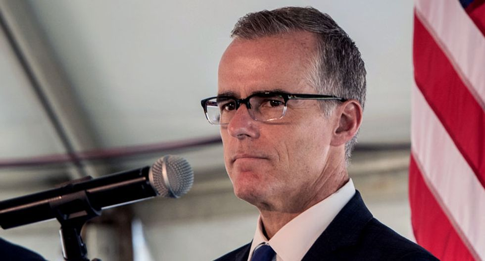 BOMBSHELL: McCabe says FBI told GOP lawmakers in 2017 they were investigating Trump -- and none objected