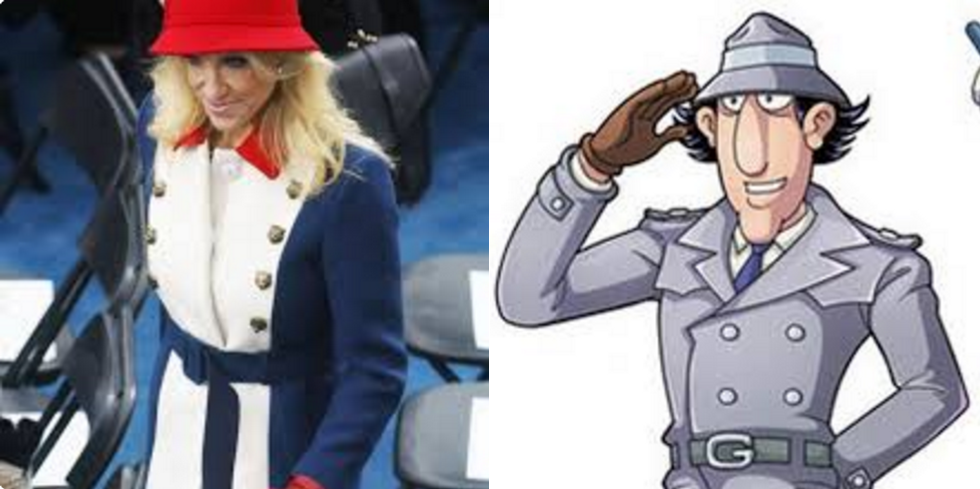 Social media brutally mocks Kellyanne Conway for using Inspector Gadget to deflect from microwave conspiracy