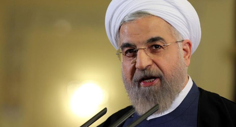 Iranian president: US demonizes Muslims as terrorists while they support 'terrorist' rebels in Syria
