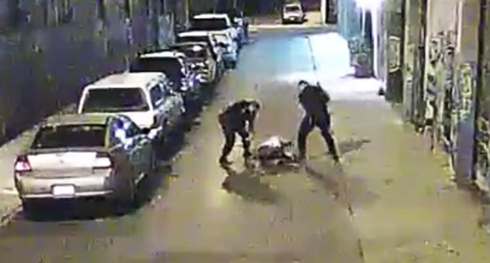 'Reminiscent of Rodney King': San Francisco cops investigated after video release of savage beating of man