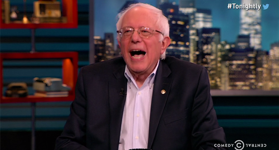 Bernie rips Cruz and Trump: You wouldn't know NY values if they were 50-ft on Empire State